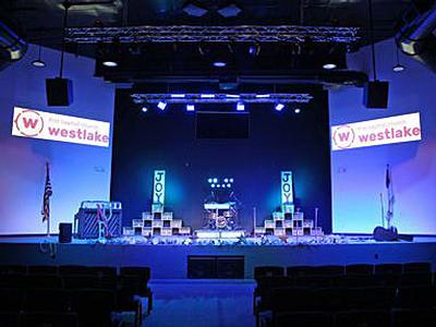 Eiki Projectors Bring Outstanding Visual Presence to First Baptist Church Westlake Services