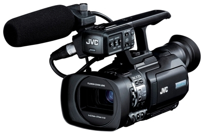 JVC UNVEILS NEW GY-HM150 PROHD HANDHELD CAMCORDER