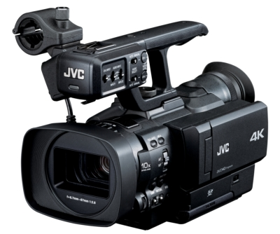 JVC Unveils World's First Handheld 4K Camcorder