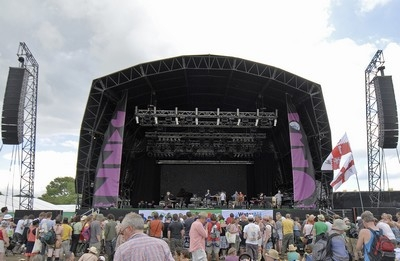 Electro-Voice is crowd-pleaser at Glastonbury's Jazz World