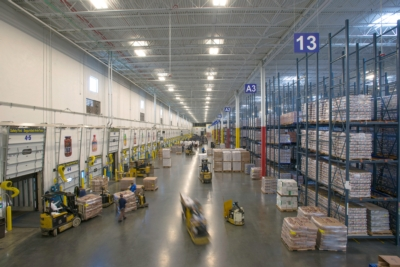Goya Foods New Distribution Center Enjoys Clear Announcements
