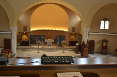 ASHLY AUDIO DELIVERS MULTIPLE LAYERS OF CONTROL IN GREEK ORTHODOX CHURCH