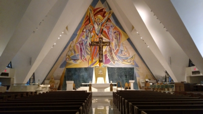Guardian Angel Cathedral Upgrades to ENTASYS