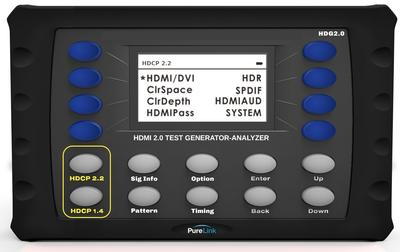 PureLink Adds Portable Test Pattern Generator to its HDMI 2.0 Offerings