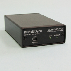MultiDyne Debuts HDMI-ONE, a Low-Cost HDMI and DVI Fiber Link at InfoComm 2009