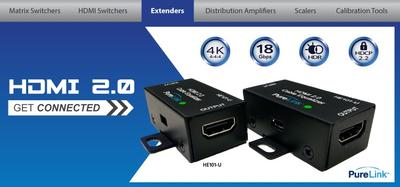 PureLink Further Expands HDMI 2.0 Offerings with UHD/4K Cable Repeater