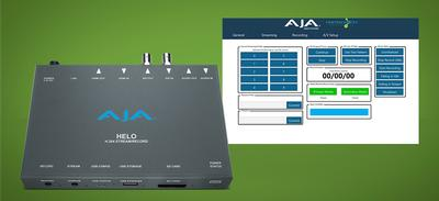 ControlWorks Advances Live Streaming Workflows with AJA HELO Support for Custom Crestron Integration Environments