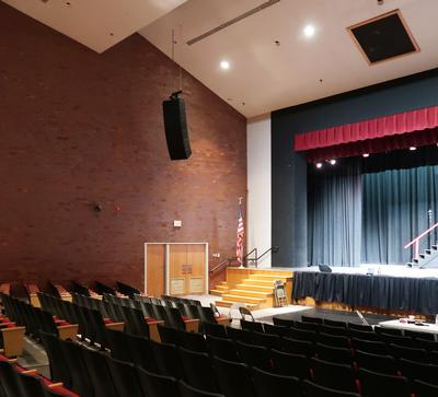 Hatboro-Horsham Auditorium gets Performance Audio  with Community IV6 Modular Vertical Arrays