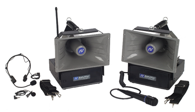 AMPLIVOX HAILER Series for EMERGENCIES /CROWD CONTROL
