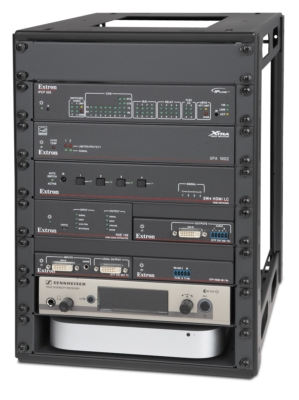 Middle Atlantic and Extron Electronics Initiate New Half Rack Standard for AV Integration
