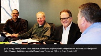 Highway Marketing named new rep firm for Williams Sound