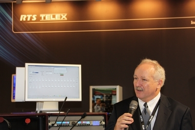 IBC 2011 -- Success for RTS/TELEX
