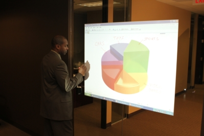 New Whiteboard-Projection Screen Wall Covering from Elite Screens