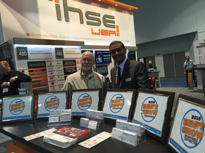 IHSE USA Wins Seven of NewBay Media's Best of Show Awards, Presented by Multiple NewBay Media Publications