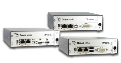 IHSE USA introduces redundant path extenders for dual link DVI, dual-head DVI and HDMI sources