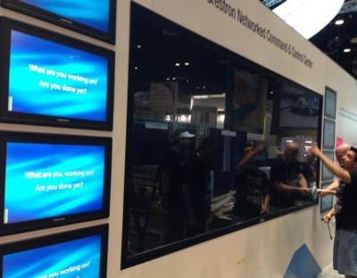CyberTouch and Crestron Electronics Show Advanced Functionality at InfoComm 2013