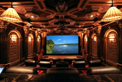 Lampless projector helps owner realize life-long theater dream