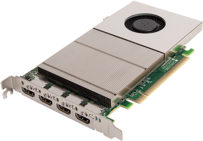 Datapath's new 4K graphics card delivers multiple output options