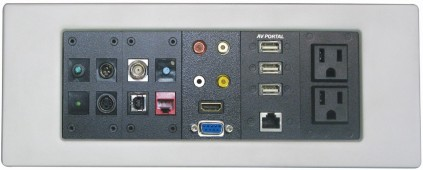 ALTINEX ANNOUNCES AVPORTAL™+ WALL PLATE SYSTEM - Highly customizable, with a sophisticated look
