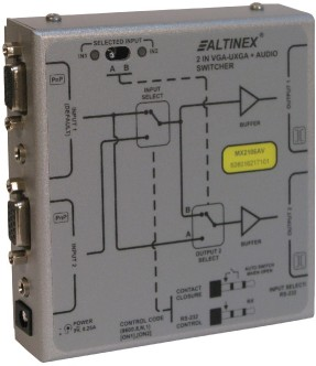 ALTINEX ANNOUNCES RE-DESIGNED MX2106AV SWITCHER - The ideal switcher for small AV setups