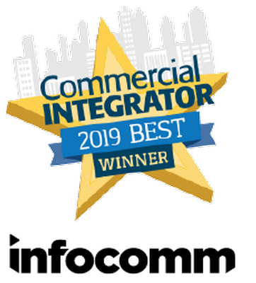 Aurora's RXT Series Awarded 2019 CI BEST Award in the Touchscreen Control and Automation Category!