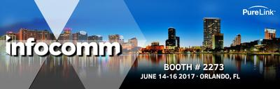 PureLink to Showcase Matrix Switching and IP Video Solutions at InfoComm