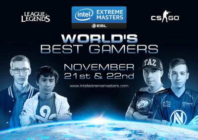 BenQ is the Official Gaming Monitor Sponsor of Intel® Extreme Masters San Jose
