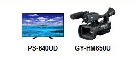JVC OFFERS 4K DISPLAY SOLUTIONS, PROHD CAMERA LINE AT GV EXPO