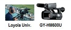 PATRIOT LEAGUE LAUNCHES ONLINE SPORTS NETWORK WITH JVC GY-HM600 PROHD CAMERA