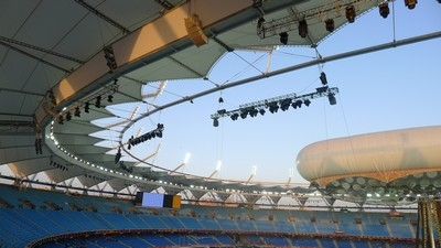 Electro-Voice sound for 2010 Commonwealth Games in New Delhi