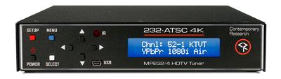 The New 232-ATSC 4K HDTV Tuner is Now Shipping