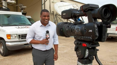 KATC MULTIMEDIA JOURNALISTS TRANSMIT LIVE HD REPORTS WITH JVC GY-HM650 MOBILE NEWS CAMERA