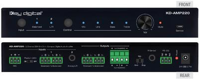 Key Digital Offers Compact Digital Audio Amplifier Perfect for Conference Rooms