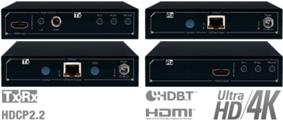 Key Digital Introduces 4K HDBaseT HDMI Extenders KD-x411ProK and KD-x611ProK and 4K HDBaseT HDMI Power Over HDBaseT Extender KD-x411POHK