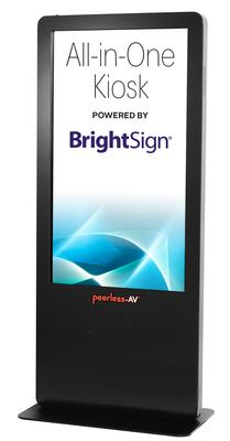 Peerless-AV® Introduces New All-in-One Kiosk Powered by BrightSign®