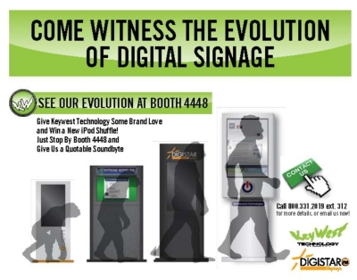 Keywest Technology unveils DIGISTAR Display Series integrated digital signage cabinet system