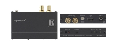Kramer Introduces FC-321 SD/HD-SDI to HDMI Format Converter/Switcher