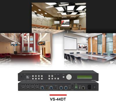 Kramer Electronics - Truly Multi-Purpose 4x4 HDMI / HDBaseT Matrix Switcher up to 4K60 4:2:0