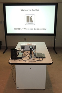 Kramer Electronics USA Opens a BYOD/Wireless Lab