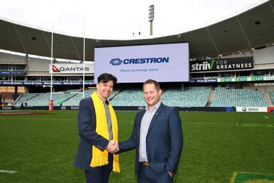 Crestron teams up with Aus Rugby Union
