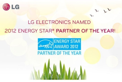 LG Named 2012 ENERGY STAR Partner of the Year