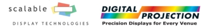 Digital Projection Expands Warp & Blend Offerings with Partner Scalable Display