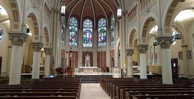 Gulf Coast Sound designs unique audio system for historic cathedral with Electro-Voice EVID speakers