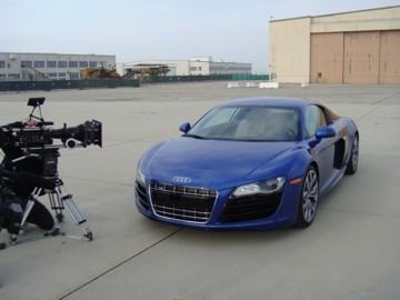 LECTROSONICS IN FAST COMPANY WITH AUDI R8