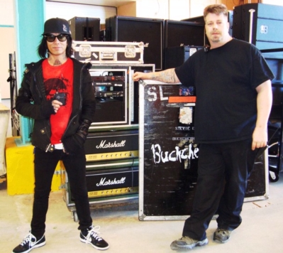 BUCKCHERRY ROCKS OUT WITH LECTROSONICS