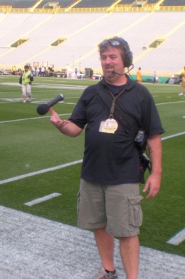 LECTROSONICS AT LAMBEAU FIELD