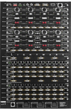 Lightware's MX Multi-Format Matrix Switchers Offer Dual-Link Options