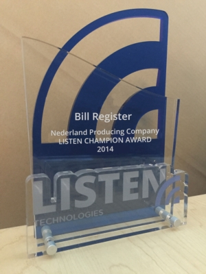 Listen Technologies Announces Inaugural Champion Award