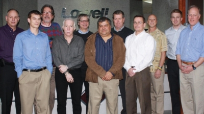 Lowell Hosts Sales Reps at Missouri Headquarters