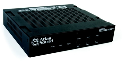 Atlas Sound New Mixer and Power Amplifiers Perfect Your Small to Medium Systems